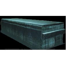 Гроб мусульманский обитый бархатной тканью домовина