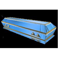 "Гроб Атлас ""ТРАУР"" голубой стандарт"