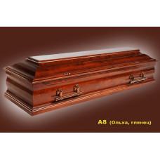 Гроб A8 Ольха глянец