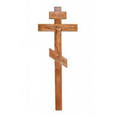 Крест Резной Дубовый 3