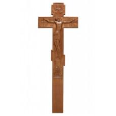 Крест Резной Дубовый 4
