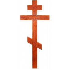 Крест Резной Сосновый (светлый)