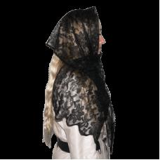Гудра траурная (головной убор - шарф)